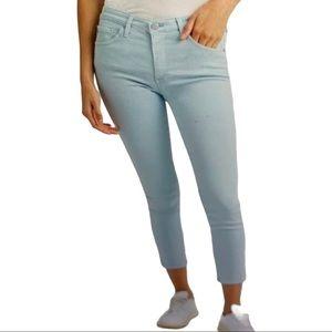 AG The Prima Crop Cigarette Crop Jeans Blue 27